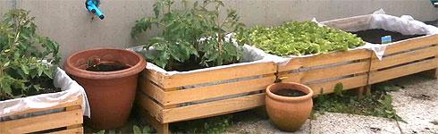 lobjectif cette fois ci est de raliser ensemble une jardinire pour sa terrasse avec des palettes de rcupration - Fabriquer Une Jardiniere Avec Des Palettes