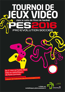 actualit tournoi de jeu vid o pes 2016. Black Bedroom Furniture Sets. Home Design Ideas
