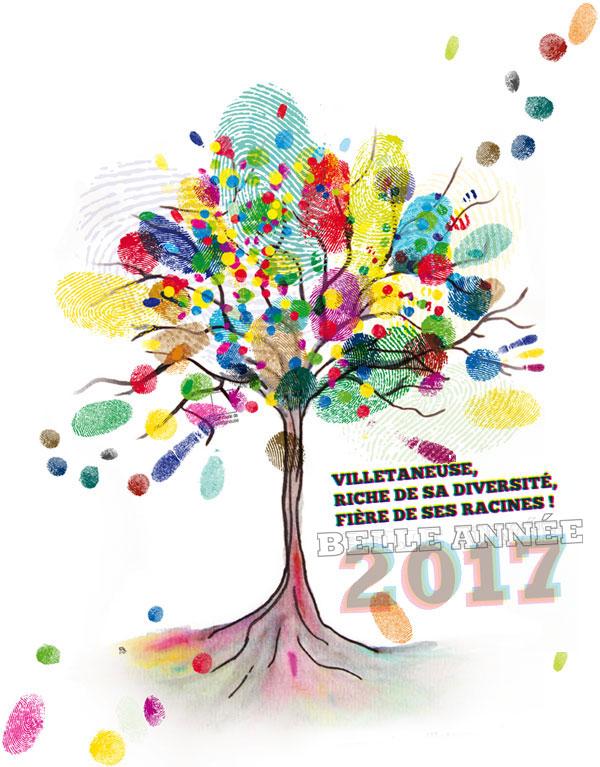 Villetaneuse, riche de sa diversité, fière de ses racines. Belle année 2017