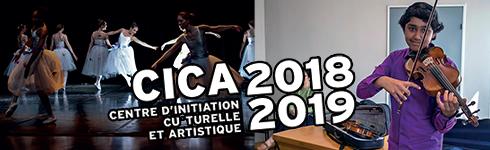CICA 2017-2018 (centre d'initiation culturelle et artistique)