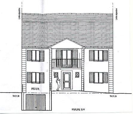 Exemples de plans demand s lors de vos d marches li es l - Plan coupe facade maison ...