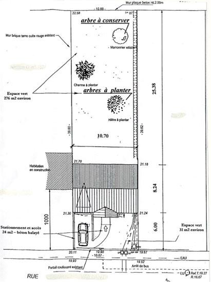 Exemples de plans demand s lors de vos d marches li es l 39 urbanisme plaine commune mairie de - Exemple plan de masse ...