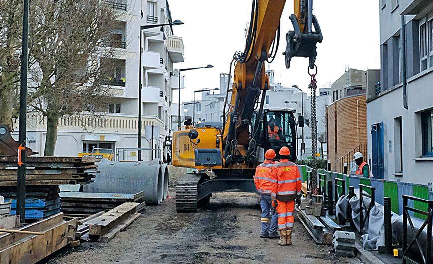 Importants travaux d&aposassainissement dans le nord de Villetaneuse