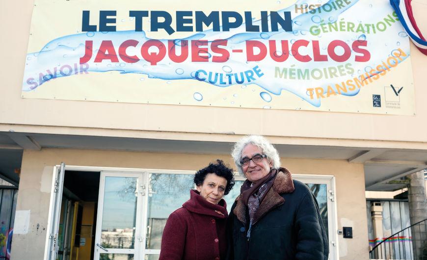 Antonio Iglesias et Maryvonne Vénard de la Compagnie de La Pierre noire
