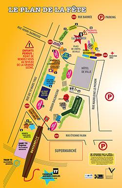 Cliquer pour télécharger le plan de la fête de la ville en version PDF