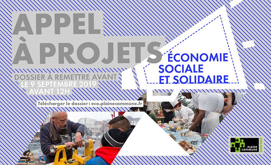 Appel à projet Economie sociale et solidaire de Plaine Commune
