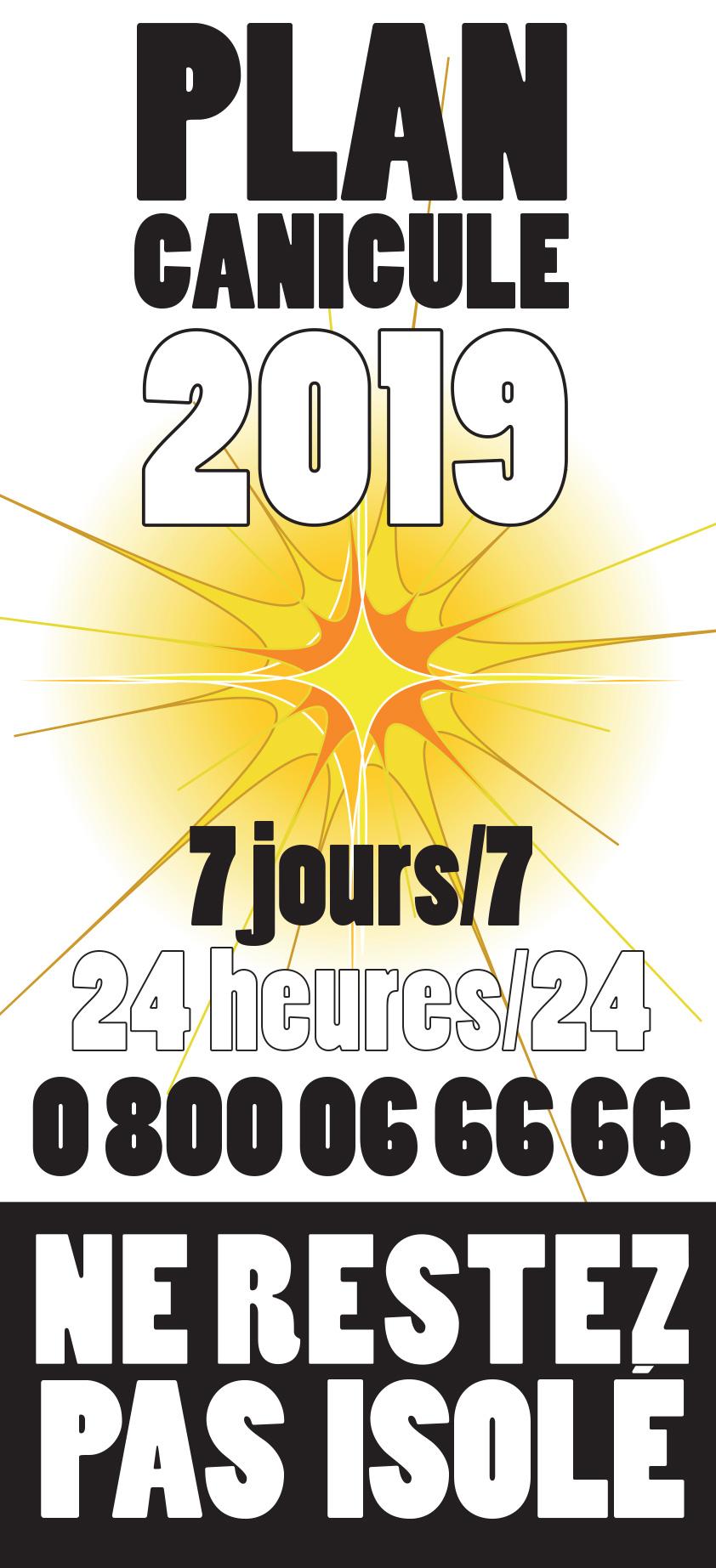 Canicule : appelez 24h/7j le 0 800 06 66 66