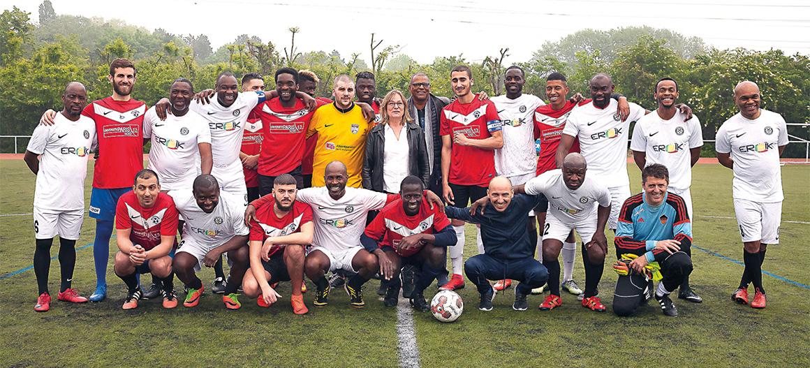 17 mai : Match de gala entre les Black stars et un sélection de joueurs Villetaneusiens