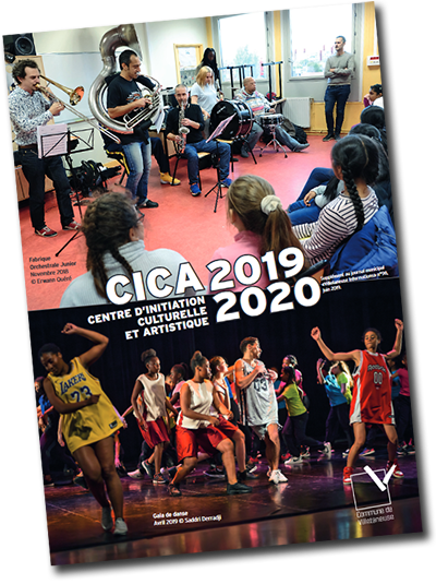 Les cours et ateliers de danses, de musiques et de théâtre du CICA de 2019/2020