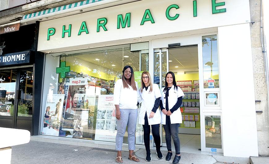 La nouvelle pharmacie Goumenou