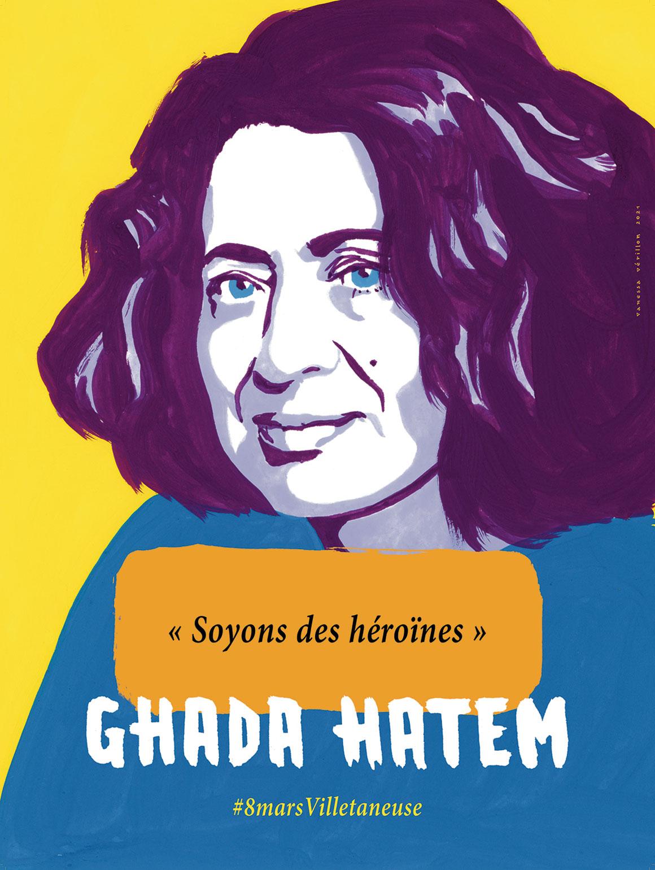 Ghada HATEM © Vanessa Vérillon