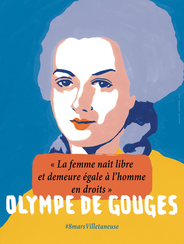 Olympe DE GOUGES © Vanessa Vérillon