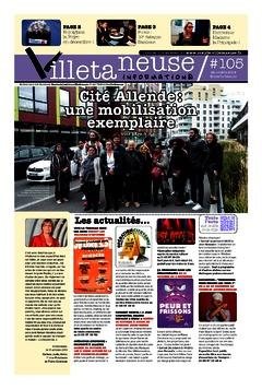Villetaneuse informations N°105 du 22 octobre 2019